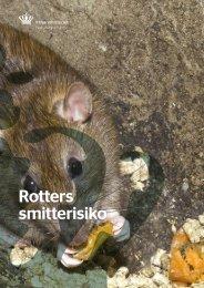 Rotters smitterisiko - Naturstyrelsen