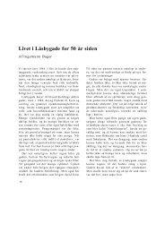 Livet i Låsbygade for 50 år siden - Kolding Kommune