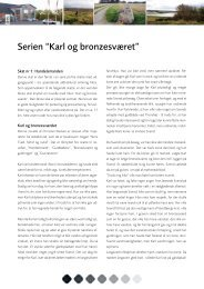 """Serien """"Karl og bronzesværet"""" - Norsby.dk"""
