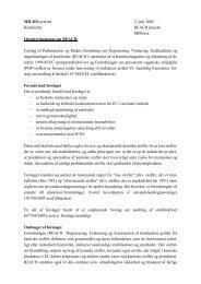 Orienteringsnotat om REACH - Miljøstyrelsen