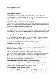 2010-01-20 P60 Die häufigsten Fragen - NCL-Stiftung