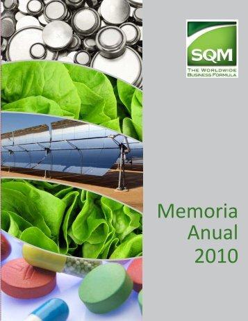SQM-Memoria_Anual_2010_ES
