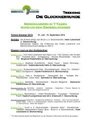 Detail- und Beherbergungsinformationen - Ferienregion ...