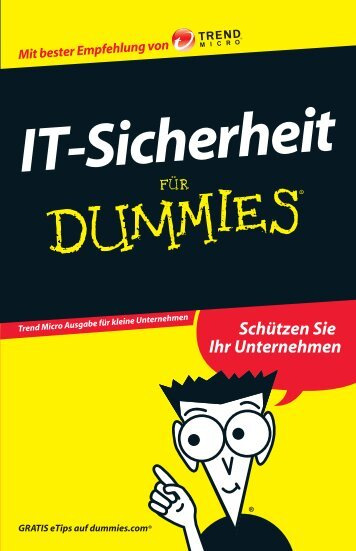 IT-Sicherheit Für Dummies - INSIGMA IT Engineering GmbH