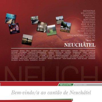 Indice das matérias Bem-vindo/a ao cantão de Neuchâtel