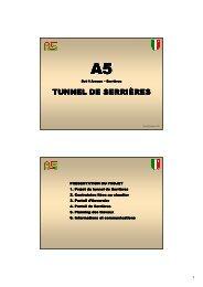 TUNNEL DE SERRIÈRES
