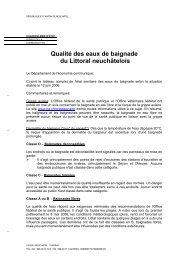 Lien vers le document - Canton de Neuchâtel
