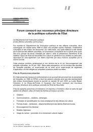 Placé sous la présidence de M. Thierry Béguin - Canton de Neuchâtel