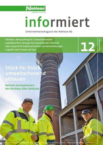 """""""Nehlsen informiert"""" Ausgabe 35 [4.2 MB] - Nehlsen AG"""