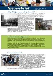 13D43 Nieuwsbrief februari 2013 ingenieursbureau Drechtsteden