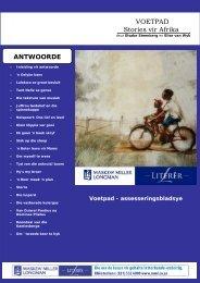 VOETPAD Stories vir Afrika - Maskew Miller Longman