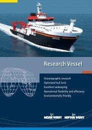 Research Vessel - Meyer Werft