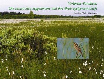 Verlorene Paradiese: Die eurasischen Seggenmoore und ihre ...