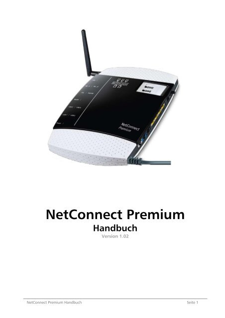 Netconnect Premium Handbuch Netcologne