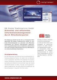 Download Case Study DB Dialog - Netpioneer GmbH