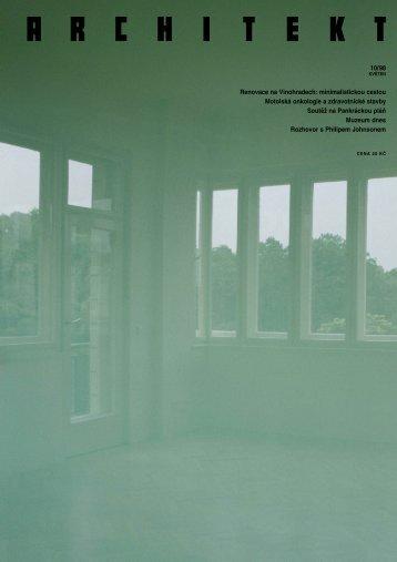 10/98 Renovace na Vinohradech: minimalistickou cestou Motolská ...