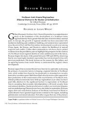 Northeast Asia's Stunted Regionalism - Yale Journal of International ...