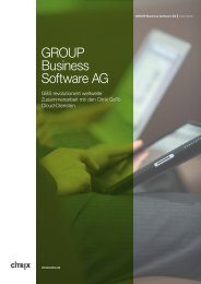 GROUP Business Software AG - Netviewer