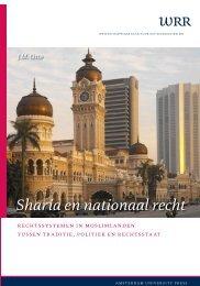 Sharia en nationaal recht - Wetenschappelijke Raad voor het ...