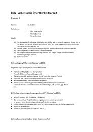 Protokoll zur Sitzung vom 3. März 2010 - Neubulach