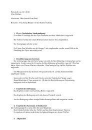 Protokoll zur Sitzung vom 26. März 2010 - Neubulach