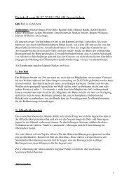 Protokoll zur Sitzung vom 4. Februar 2010 - Neubulach