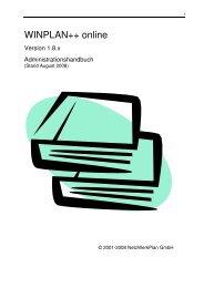 WINPLAN++ online - Netzwerkplan GmbH