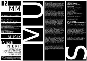 Programm 2005.pdf - Institut für Neue Musik und Musikerziehung e.V.