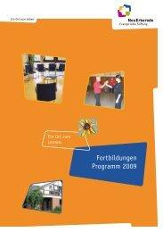 Fortbildungen Programm 2009 - NeuErkerode