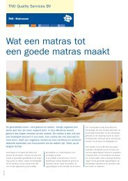 Folder Matrassen Nederlands - TUV