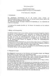 Verfassung Schulverein - Diakoniewerk Neues Ufer
