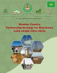 Mauritania - Islamic Development Bank