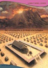 Het verlossingsplan en de dienst in het heiligdom - Seventh Day ...