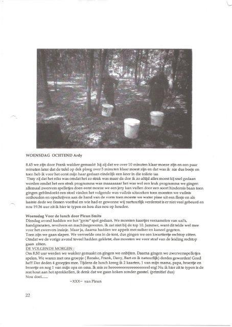 WoordjeVooraf - Scouting Riethoven