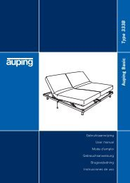 Auping Basic Type 333B - Auping Service Manual