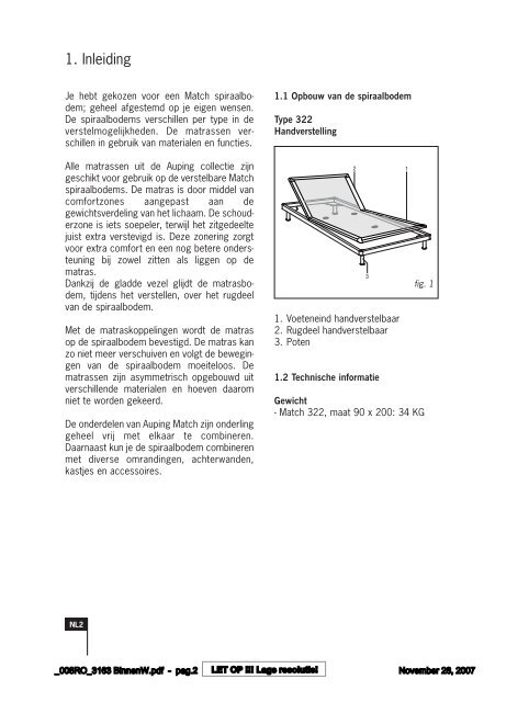 6507170_11-2007 - Auping Service Manual