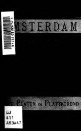 Amsterdam : gids met platen en plattegrond : houtsneden naar ...