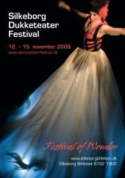 Download det trykte program for 2009 - Silkeborg Dukketeaterfestival