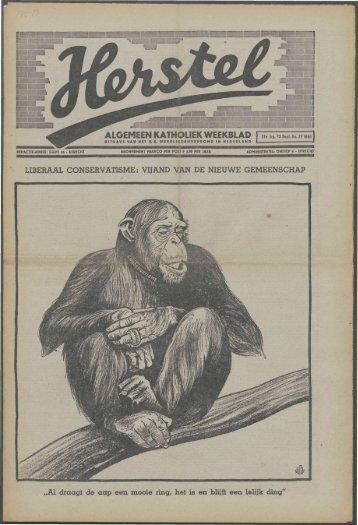 Herstel (1940) nr. 37 - Vakbeweging in de oorlog
