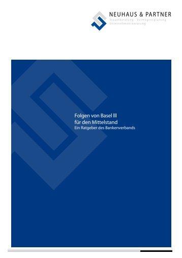 Folgen von Basel III - Neuhaus-partner.de