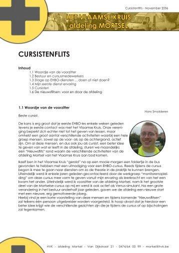 CURSISTENFLITS - Het Vlaamse Kruis VZW