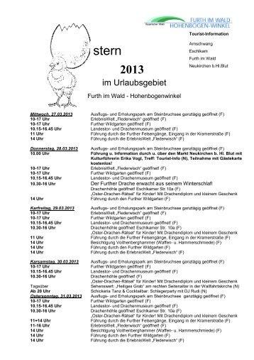 Microsoft Word - Osterprogramm 2013 Furth-HBW_neuk.pdf - Markt ...