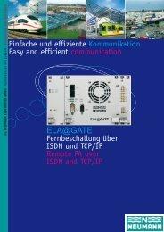 ELA@GATE - Neumann Elektronik
