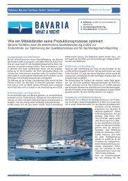 Bavaria Yachtbau GmbH - Neumann & Neumann Projekt