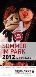 finden Sie das Programm zu Sommer im - Stadt Neumarkt in der ...