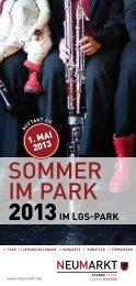 SOMMER IM PARK - Stadt Neumarkt in der Oberpfalz