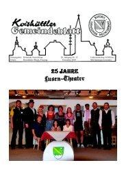 Gemeindeblatt Dezember 2010 - Neuschönau