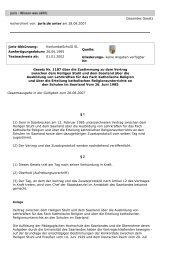 Gesamtes Gesetz recherchiert von: juris.de unter am 28.08.2007 ...