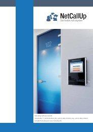 NetCallUp Flyer - NetCallUp Software GmbH