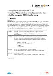 Rückerstattung GEAK-Beratung(PDF, 110 KB) - Stadtwerk Winterthur